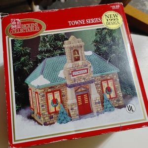 Dickens Collectibles Towne Series Porcelain School